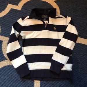 Ralph Lauren 3/4 Zip Sweater Sz 5